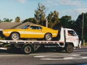 old time, quality towing, mustang